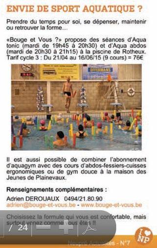 Bulletin communal – Neupré Actualités n°7 - Avril/Mai 2015