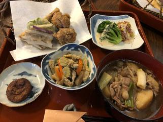 なごみ庵の昼食