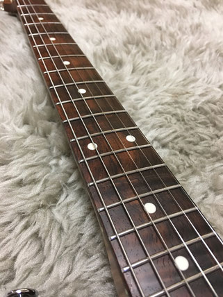 Figured Brazilian Rosewood Fingerboard