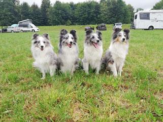 Enkel Moony, Mama Coco, Tante Ixy und Oma Belle