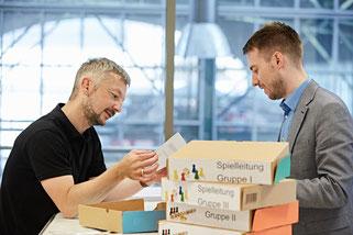 Dr. Matthias Heuberger und Tobias Meyer  |  Foto: Michael Hudler