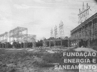 Área externa com 40.000 Volts (1930)