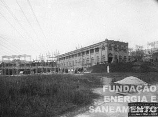 Vista Geral da Estação Terminal de Transformação Pirituba (1930)