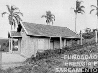 Residência de funcionário construída em 1920 na ETT Pirituba, a 'Terminal Station', como era chamada