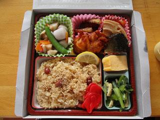 長岡の郷土料理がいっぱい詰まった「特製幕の内弁当」