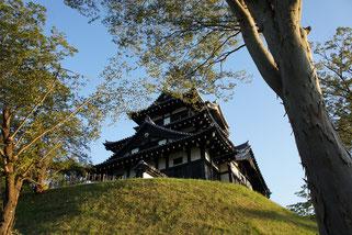 控えめなところがちょうどいい。高田城三重櫓