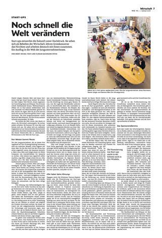 Kompotoi in der WOZ die Wochenzeitung vom 7.1.16