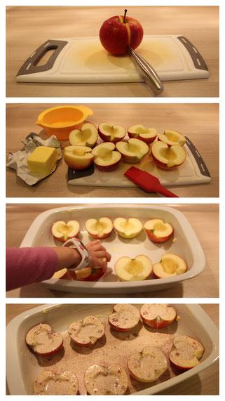 So gehen unsere leckeren Bratäpfel
