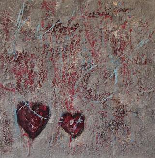 Abstarkte Malerei von Linda Ferrante