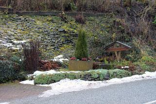 Lage des ehem. Mundlochs der Grube Elisabeth in Engelbach