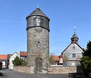 Wasserturm in Climbach, März 2017