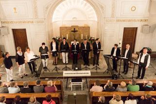 Vocalensemble Mittendrin - Lange Nacht der Kirchen 19.5.2015