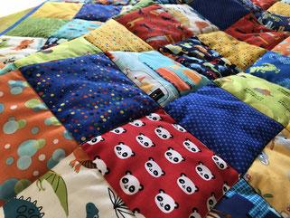 Baby Quilt Patchwork Decke