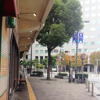 ホテル阪急インターナショナル前
