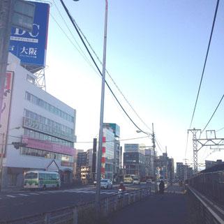 阪急中津駅前
