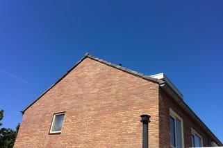 Voegbedrijf gevelrenovatie voegwerk metselwerk reiniging gevel Leiden Margrietstraat 11 Voorhout