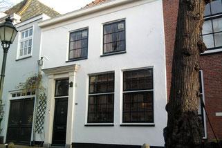 Glas en schilderwerk renovatie monumentaal pand Voorstraat Noordwijk