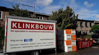 PIR dakisolatie isoleren plat dak en vervangen bitumen dakbedekking lood en dakgoten Vrouwenweg 3 Leiden