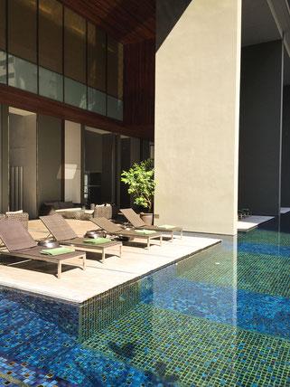der pool im hotel hansar
