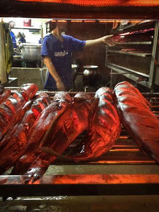 gegrillter Fisch im Jaekoy