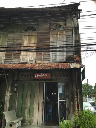 Holzhaus in Songkhlas Chinatown