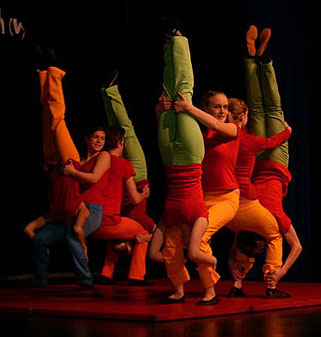 Bodenakrobatik Zirkusshow Hands Up 2007