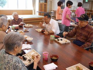 田中園長も会食に参加され、会話が弾みました