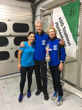 Birgül, Wolfgang, Maria - zufrieden mit ihren Leistungen