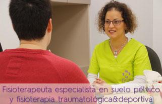 Fisioterapeuta especialista en suelo pélvico y fisioterapia traumatólogica y deportiva