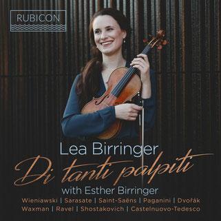Di tanti palpiti - virtuoso bravura pieces for violin