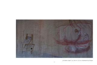 Maria Cornelia Schneider-Marfels: Selbstportrait im Malsaal
