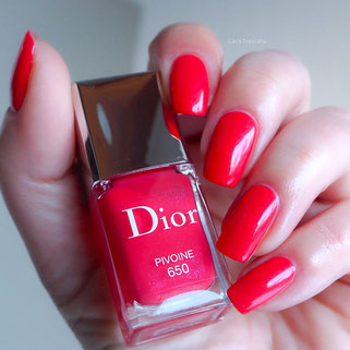 swatch Dior PIVOINE 650 Glowing Gardens Collection Spring 2016