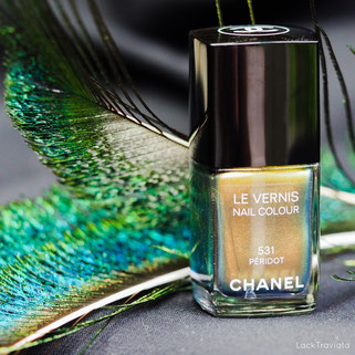 CHANEL • PÉRIDOT 531 • Illusion d'Ombres Collection fall 2011