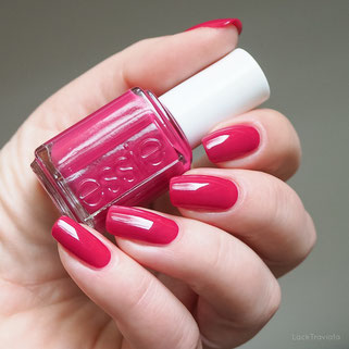 swatch essie raspberry