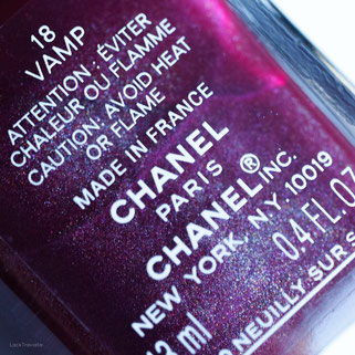 CHANEL VAMP 18 (relaunched 2016)