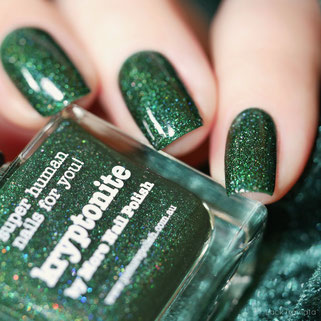 piCture pOlish • kryptonite • Collaboration Shade 2012, created by More Nail Polish