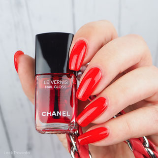 swatch CHANEL • ROUGE RADICAL 530 • Le Rouge N° 1 Collection fall 2016