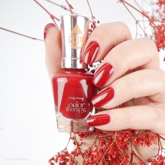 Sally Hansen • Red-y to Glow • color therapy