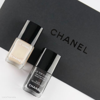 CHANEL • BLANC WHITE 548 • BLACK MÉTAMORPHOSIS • Coco Codes Collection • Spring 2017