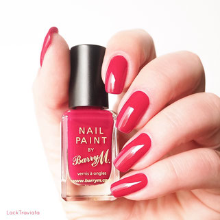 swatch Barry M. • RASPBERRY