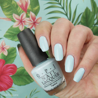 OPI • Suzi Without a Paddle • Fiji Collection • Spring / Summer 2017