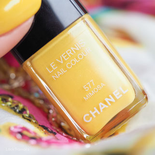 swatch CHANEL MIMOSA 577 Les Fleurs d'Été Collection (Summer 2011)