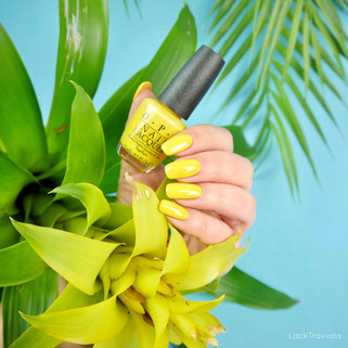 OPI • Exotic Birds Do Not Tweet • Fiji Collection • Spring / Summer 2017