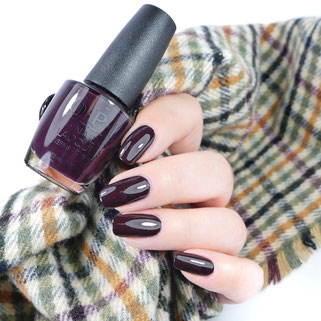 OPI • Good Girls Gone Plaid (NL U16) • Scotland Collection (fall/winter 2019)