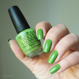swatch OPI I'm Sooo Swamped New Orleans Collection Spring 2016