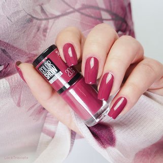 swatch MAYBELLINE • BLUSH BERRY
