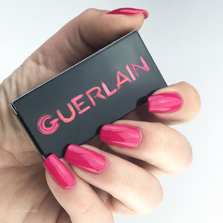 swatch Guerlain Pink Tie La petite Robe noire Collection Spring 2016