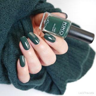 swatch KIKO 532 Pearly Amazon Green