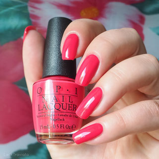 swatch OPI • She's A Bad Muffuletta! • New Orleans Collection Spring 2016