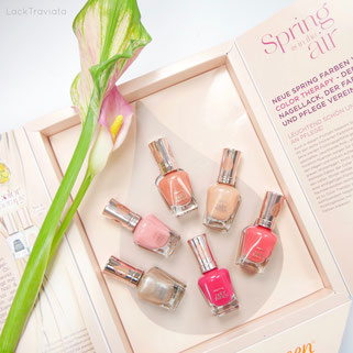 """Sally Hansen • color therapy Spring Collection """"Spring is in the air"""" 03/2017"""